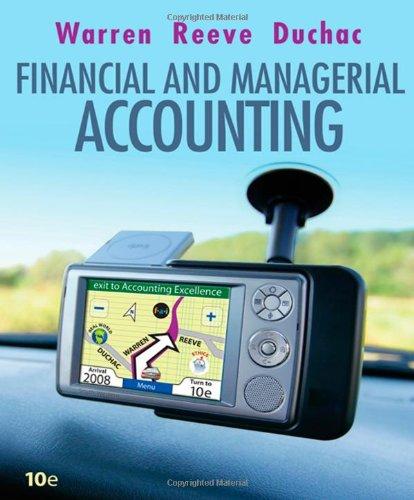 Accounting By Carl Warren