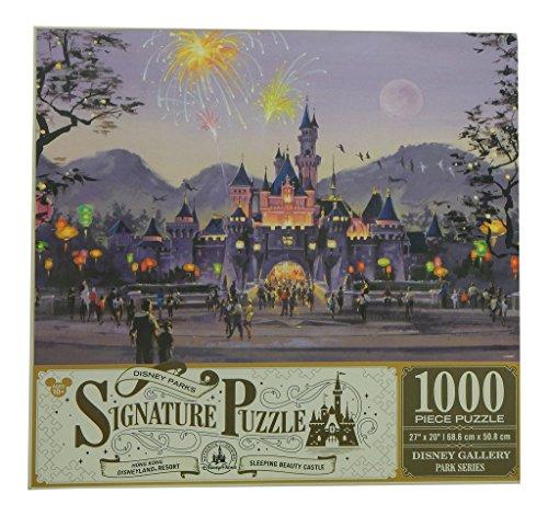 Disney Gallery Disneyland - Disney Parks Signature Puzzle Sleeping Beauty Castle - Hong Kong Disneyland