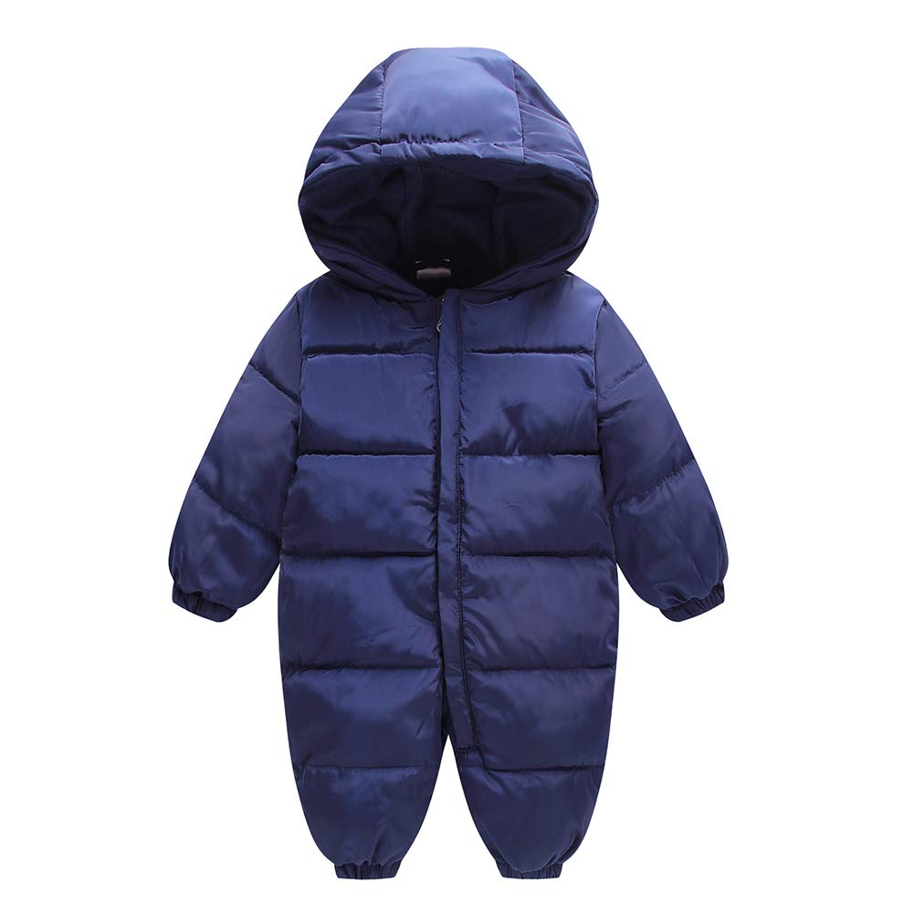 1f71426ef Amazon.com: Fairy Baby Infant Boy Girl Winter Thick Romper Outwear Warm  Hood Snowsuit Jumpsuit: Clothing