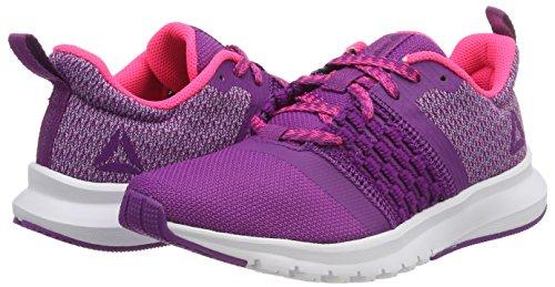 Running Donna Scarpe Pink Reebok white Viola Fog acid purple aubergine Cm8786 RPqEAxng