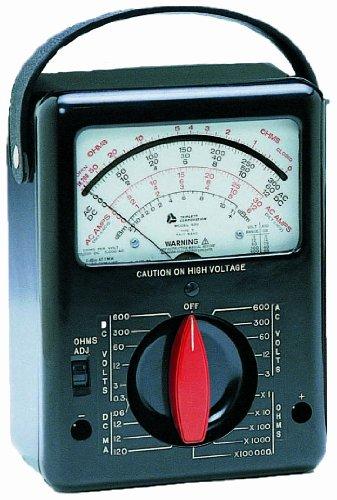 Triplett Analog Multimeter : Triplett model classic analog voltmeter