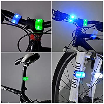 Tail Lights FOURCHEN Ultimate Lighting and Safety Pack of Super Bright Front Bicycle Lights Front Bike Light with Back Tail Lights LED Bike Light Bicycle Lights Bike Lights Set