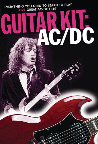 AC/DC Guitar Kit - Book + CD+ DVD