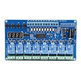 Relay Module 8-36V 8-Channel Time Delay Multifunction Relay Board with Optocoupler LED