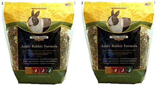 (2 Pack) Sun Seed Sunscription Vita Prima Adult Rabbit Formula - 4lb each