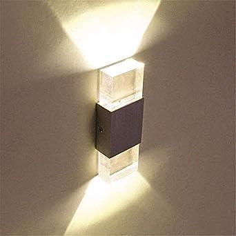 Lightess 6w Led Wandleuchten Innen Up And Down Wandlampe Aluminium