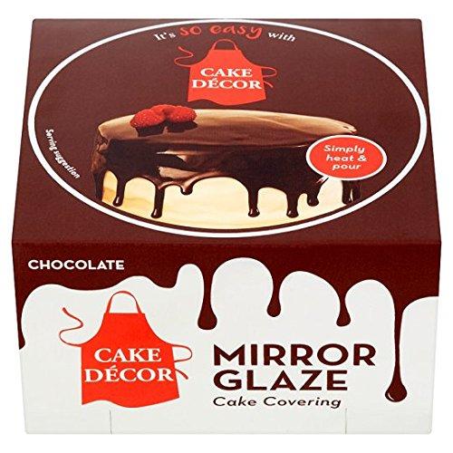 Cake Decor Mirror Glaze Chocolate 270g Amazoncouk Grocery