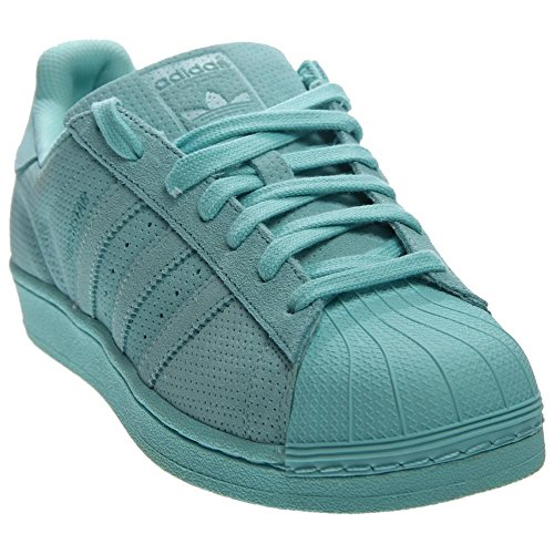 adidas Originals Men's Superstar Rt Fashion Sneaker, Clear Aqua/Clear Aqua/Clear Aqua, 8.5 M US