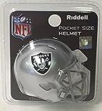 Raiders Riddell Speed Pocket Pro Football Helmet