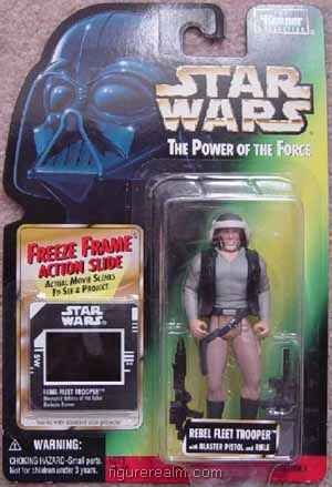 Rebel Fleet Trooper from Star Wars - Power of the Force (1995) Freeze Frame