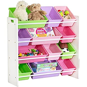Amazon.com: Honey-Can-Do SRT-01603 Kids Toy Organizer and Storage ...
