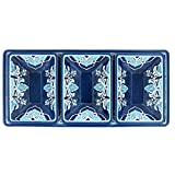 Le Cadeaux Havana 4 Piece Dip or Appetizer Set, Blue