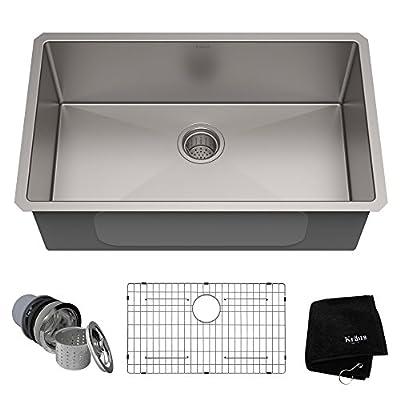 Kraus KHU101-17 Standart PRO Kitchen Stainless Steel Sink