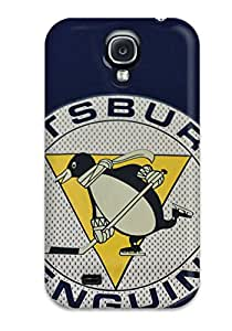 Galaxy S4 Case Bumper Tpu Skin Cover For Pittsburgh Penguins (59) Accessories