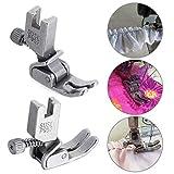 thanksky Thansky Adjustable Shirring/Ruffler Presser Foot Industrial Computerized Lockstitch Sewing Machine Parts Steel