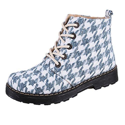 Martens Tartan Plaid Boots - 3