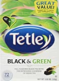 Cheap Tetley, Black & Green Tea Bags, 72 Count, 5.08oz Box (Pack of 3)
