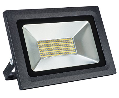 60W LED Flood Light,SOLLA Super Bright Security Light 300W Halogen Equivalent 4500LM 3000K Warm White,Outdoor IP65 Waterproof Floodlight Wall Light Exterior Spot Light Fixture Residential Lighting