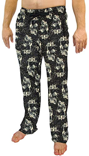 Star Wars Hano Solo Chewbacca Pajamas Men's Chewy Speckle AOP Lounge Pants (X-Large)
