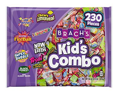 Brach's Kid's Combo Assorted Candy Mix, 230 Count