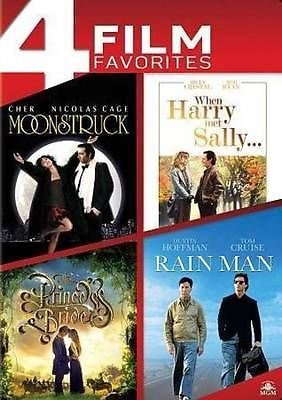 4 Film Favorites - Moonstruck/When Harry Met Sally/The Princess Bride/Rain Man (Dvd)