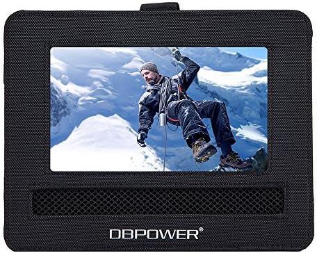 Dbpower Car Headrest Mount Holder Strap Case For Swivel Flip Style Portable Dvd Player 9 5 Inch Amazon Sg Automotive