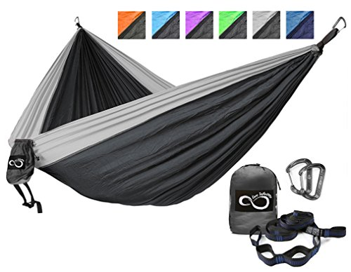 Double Outdoor Camping Hammocks Lightweight product image