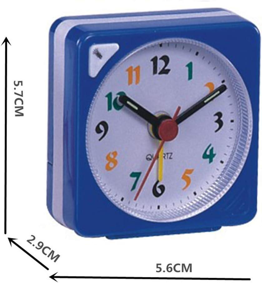 Ogquaton R/éveil de Voyage avec Mini r/éveil Portable /à Piles Bleu
