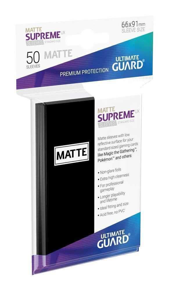 Ultimate Guard Supreme UX Mangas Juego de Cartas Color Negro