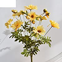 yu Artificial flowers Simulation Of A Daisy/Living Room Dining Table Furnishings Ornaments-B