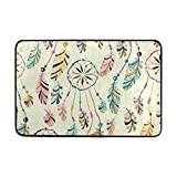 Colivy Dream Catchers Doormat Indoor/Outdoor Washable Garden Office Door Mat,Kitchen Dining Living Hallway Bathroom Pet Entry Rugs with Non Slip Backing