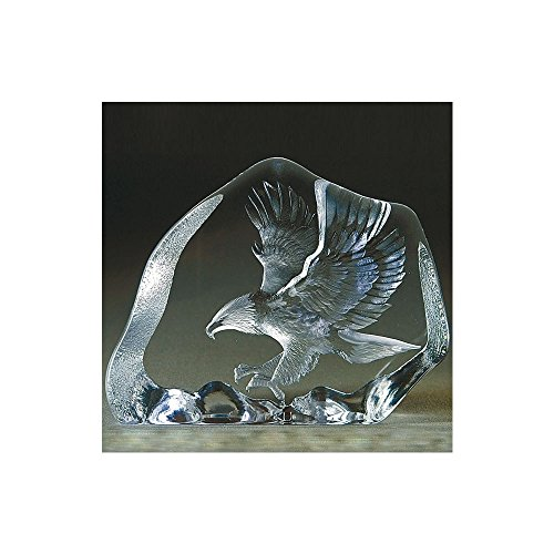 Mats Jonasson Eagle In Flight Crystal (Mats Jonasson Crystal)