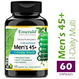 Emerald Laboratories – Men's 45+ 1-Daily Multi – Multivitamin with Clinical-Potency CoQ10, Saw Palmetto & Extra Lycopene – 60 Vegetable Capsules For Sale