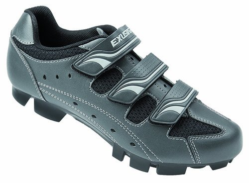 Exustar MTB-Fahrradschuhe, Metallic-Titan/Silber/Schwarz, 22237