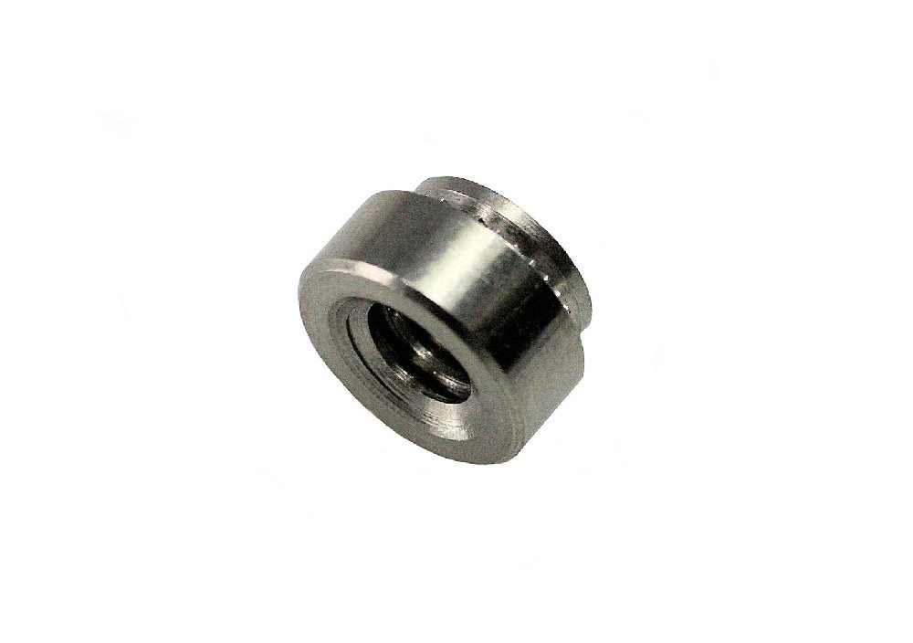 Unicorp ECLS-0420-3 Round Captive Nut Self-Clinching, 1/4-20 Thd x .125 thk, Stainless QTY-100