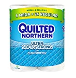 Quilted Northern Ultra Soft Bath Tissue, 6 Count