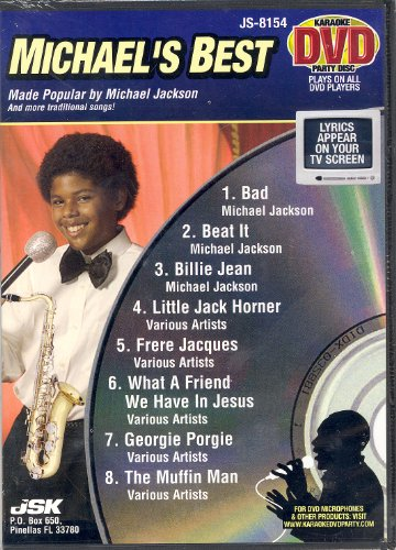 (Michael's Best (Michael Jackson) (Karaoke DVD Party Disc))