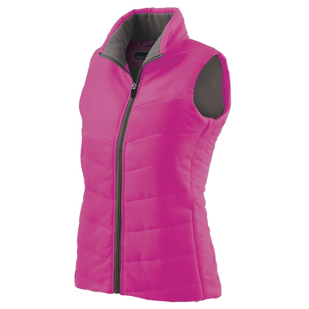 Holloway Ladies Admire Lightweight Vest (X-Small, Pink) by Holloway