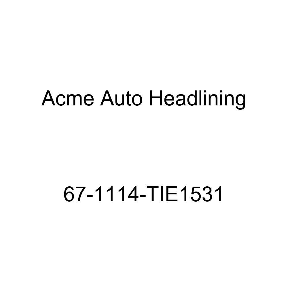 Buick Lesabre /& Wildcat 4 Door Hardtop 5 Bow Acme Auto Headlining 67-1114-TIE1531 Chamois Replacement Headliner