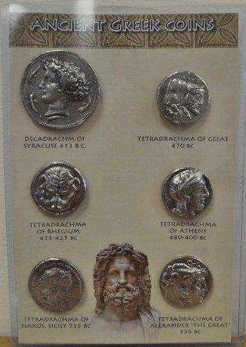 Replica Ancient Greek Coins Set