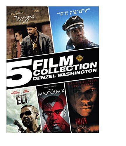 5 Film Collection Denzel Washington (Set Denzel Box Washington)