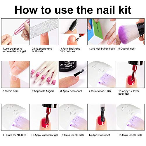 86PCS Portable USB Electric Nail Drill Set Polish Pen File Kit, 48W UV LED Nail Lamp Gel Manicure Dryer Lamp, Acrylic Nail 3-D Art Drill Dryer Manicure Supplies, Nail Files Tool Polish Decorating
