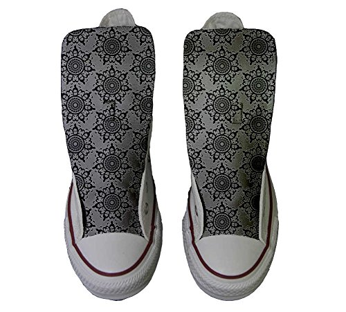 Schuhe Customized personalisierte Hi Handwerk Groud All Back Star Abstract Converse Schuhe CwUFqKZ