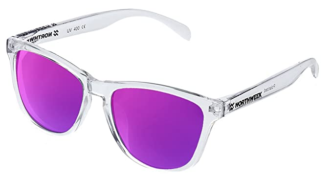 Gafas de sol Northweek ALL Bright white | lente purple ...