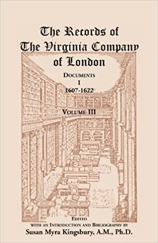 Records of the Virginia Company of London