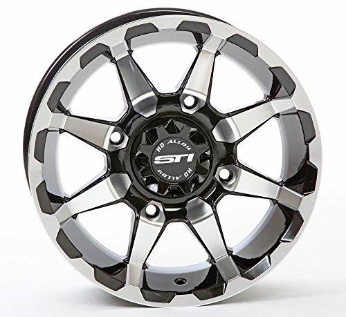 Black Atv Wheel - 3