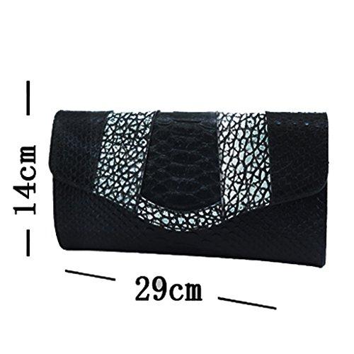 cuoio frizione borse in pelle borsa signore serpentina retrò spalla borsa diagonale piccola borsa