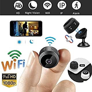 Mini Camera WiFi Camera Wireless Camera,Cameras for Home Security 1080P HD , Portable Nanny Camera,with Safety Motion Detection, Suitable for Family-Run Company Car etc.(Including 32G SD Card