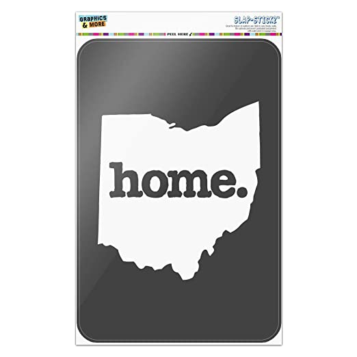 Graphics and More Ohio OH Home State - Cartel de Oficina con ...