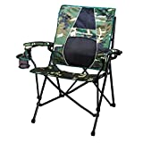 STRONGBACK Elite Folding Camping Chair Lumbar Support